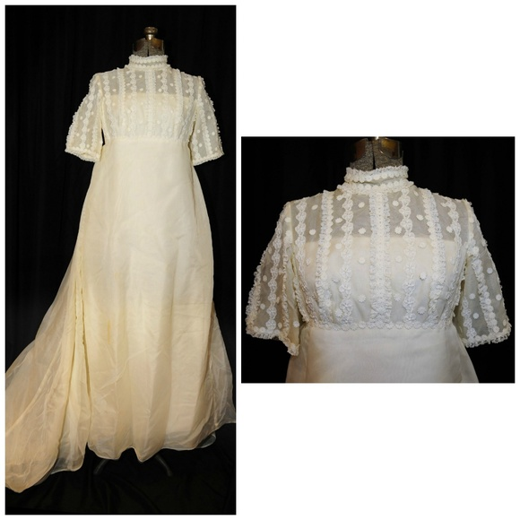 Miss Betsy Vintage Dresses Miss Betsy Vtg 5s Bridal Wedding Gown Size Small Poshmark
